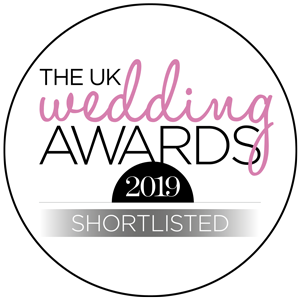 Shortlisted The UK Wedding Awards 2019