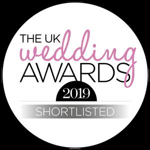 Shortlisted The UK Wedding Awards 2019