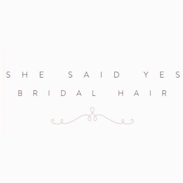 She Said Yes Bridal Hair
